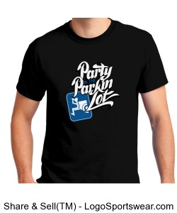 Party In The Parkin Lot T-Shirt Design Zoom